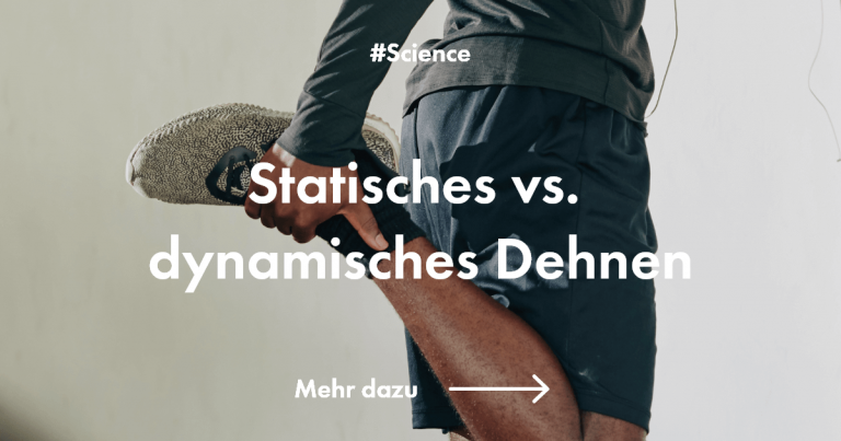 Static vs. dynamic stretching